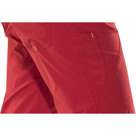 Ocun Noya Shortsit Naiset, red/yellow